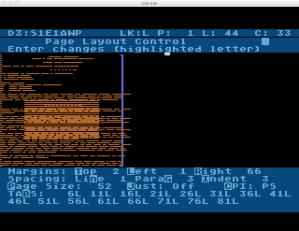 Atari Word Processor Print Preview
