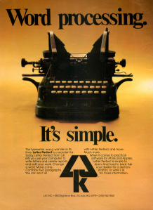 Ad Analog 1983-07