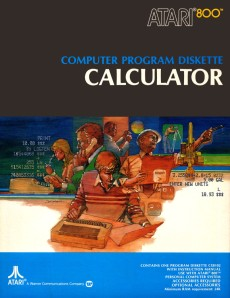 Atari Calculator Box