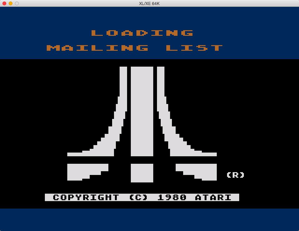 S1E4 Atari Mailing List (3/6)