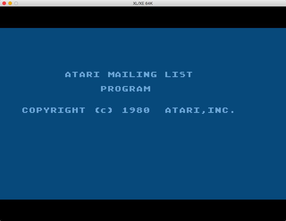 S1E4 Atari Mailing List (4/6)