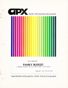 APX Family Budget Manual Cover