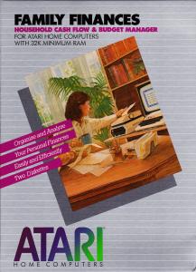 Atari Family Finances Box Front