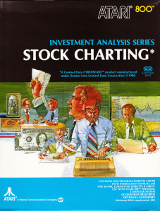 Atari Stock Charting Box Front