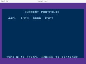 Atari Stock Charting Portfolio