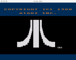 Atari Stock Charting Boot Logo