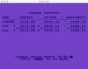 Atari Family Finances Budget Change Expense