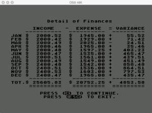 Atari Family Finances Review Finances Detail
