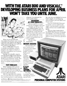 VisiCalc 1980 Full Page Ad