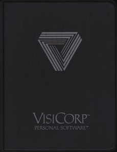 VisiCorp VisiCalc Manual Cover