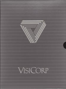 VisiCorp VisiCalc Box Inner