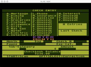 Computari A Financial Wizard Check entry
