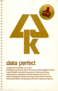 LJK Data Perfect Manual Cover