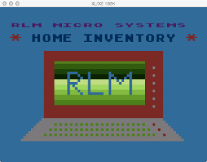 APX Home Inventory Boot Splash