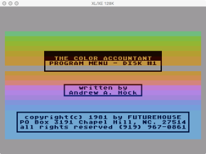 Future Accountant Disk 1 Boot Splash