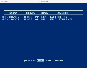Atari Timewise Browse