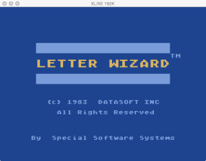 Letter Wizard Boot Splash