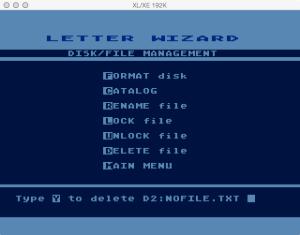 Letter Wizard Disk Delete 2