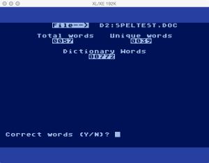 DataSoft Spell Wizard Proof 3