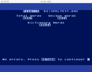 DataSoft Spell Wizard Proof No Errors