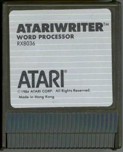 AtariWriter Cart