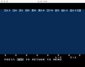 AtariWriter Original Editor