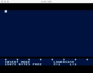 AtariWriter Plus XE Editor