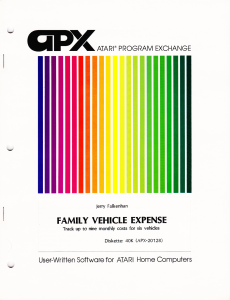 APX Family Vehicle Expense Cover