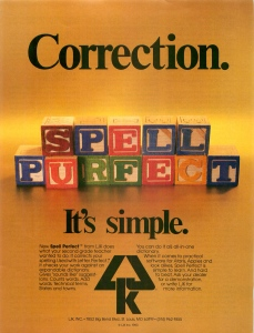 Spell Perfect Ad (Clio)