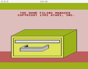 Home Filing Manager Boot Splash