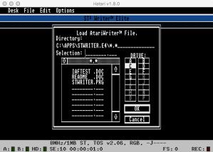STWriter Receive GEM 2
