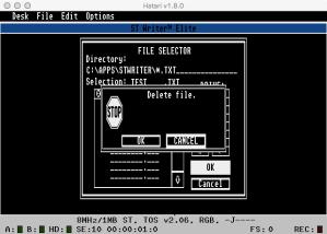 STWriter Delete G2