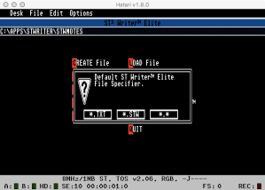 STWriter Config 2