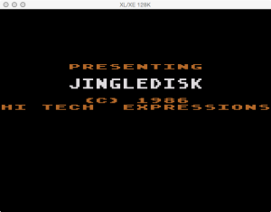 JingleDisk Boot Splash 2