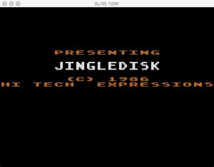 JingleDisk Boot Splash 2