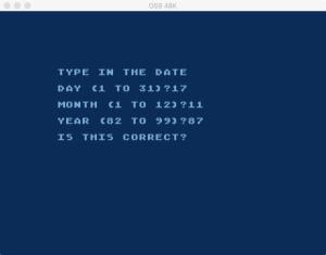TEHFM S Date