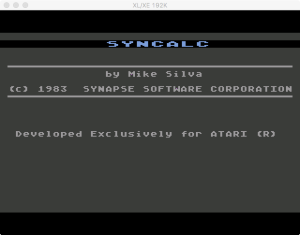 Synapse SynCalc Boot 1983