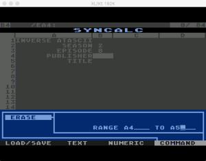 Synapse SynCalc Erase