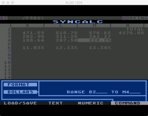 Synapse SynCalc Format Dollars