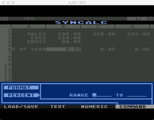 Synapse SynCalc Format Percent