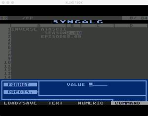 Synapse SynCalc Format Precision 1