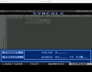 Synapse SynCalc Format Precision 2