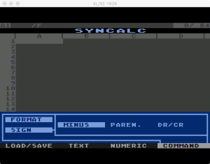 Synapse SynCalc Format Sign 1