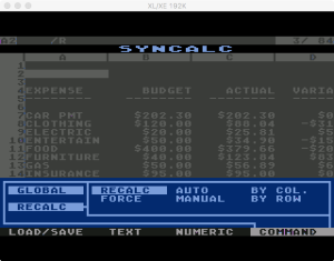 Synapse SynCalc Global Recalc