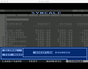 Synapse SynCalc Global Text