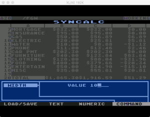Synapse SynCalc Global Width