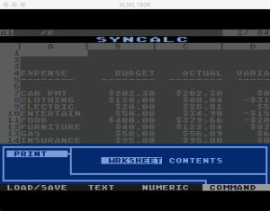 Synapse SynCalc Print W 1