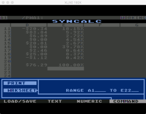 Synapse SynCalc Print W 2