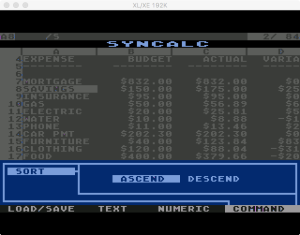 Synapse SynCalc Sort 1