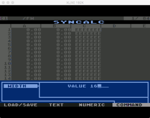 Synapse SynCalc Format Width 1